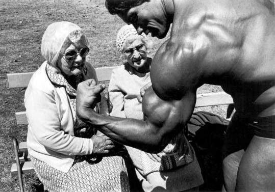 Arnold Schwarzenegger - Mr. Universe 1969