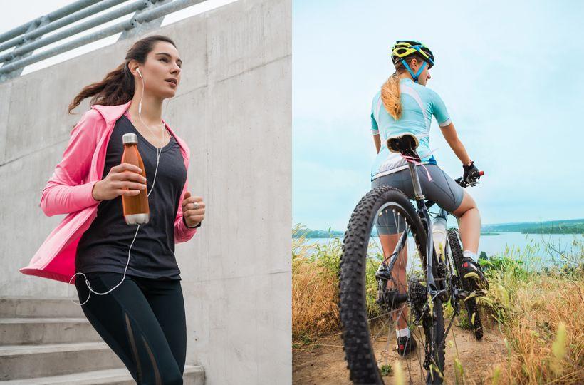 Bicykel vs. beh – čo je lepšie na chudnutie?