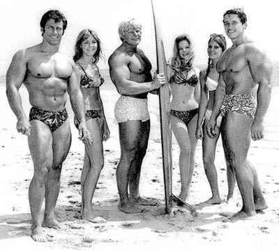 Muscle Beach - zde se rodily hvězdy
