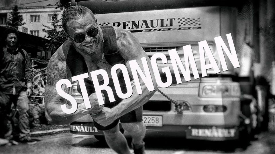 Strongman trénink