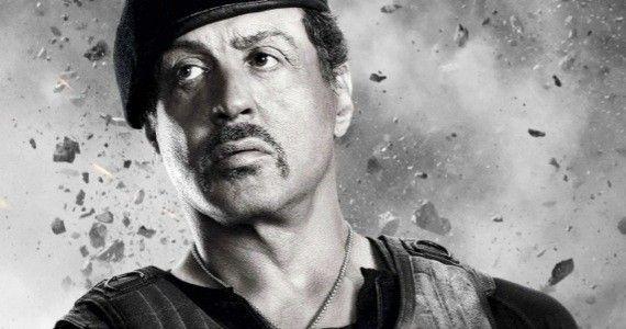 Sylvester Stallone - trénink paží pro filmové role