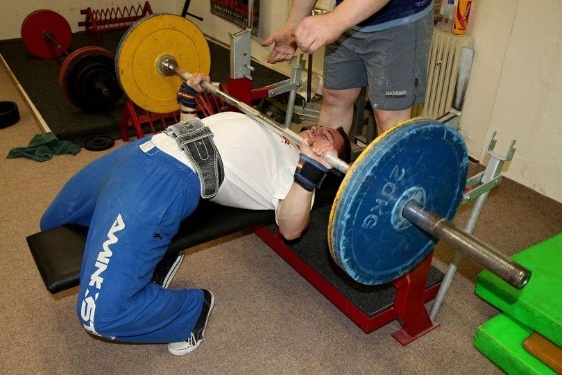 Tomáš Kalenský - powerlifting
