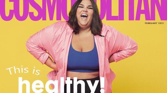 """Cosmopolitan a jeho nová obálka ve stylu """"this is healthy"""". Je to opravdu zdravé?"""