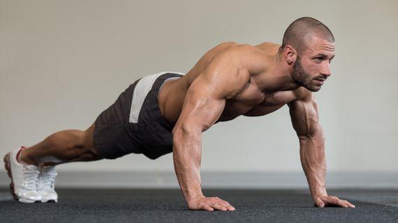 Domáci HIIT tréning celého tela pre mužov