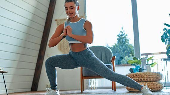 Domáci tréning na spevnenie vnútornej strany stehien pre ženy