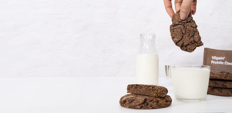 Brownie cookie s kúskami horkej čokolády