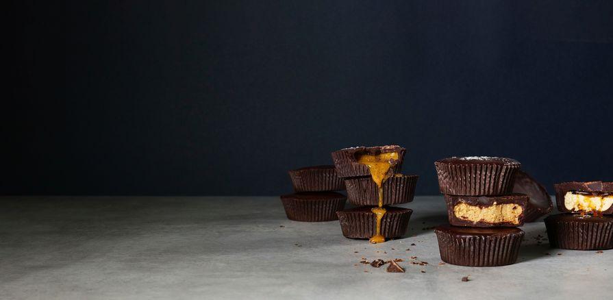 Čokoládový košíček  plnený lahodným krémom