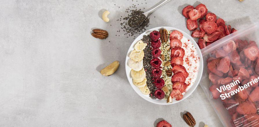 Voňavé lyo ovocie  plné chuti a vitamínov