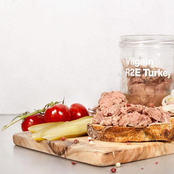 Výberové mäso  z pohára  rovno na tanier