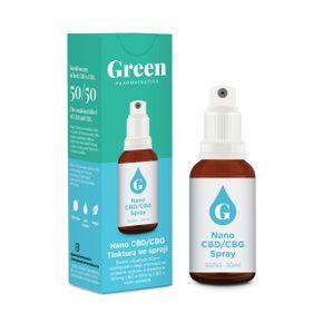 Green Pharmaceutics Nano CBD/CBG tinktúra sprej