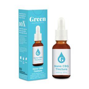 Green Pharmaceutics Nano CBG tinktúra