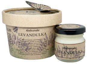 Krušnohorská lázeňská kosmetika Karlovarská Levandulová masť
