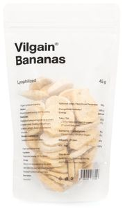 Vilgain Banány Lyofilizované