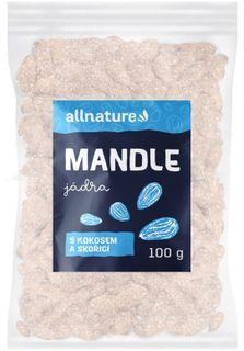 Allnature Mandle s kokosom a škoricou