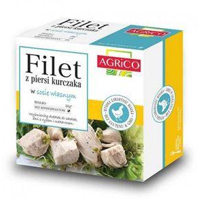 Agrico Kuracie filety vo vlastnej šťave
