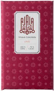 AJALA Tmavá čokoláda BIO chilli 45 g