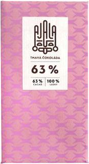 AJALA Tmavá čokoláda BIO 63 % kakao 45 g