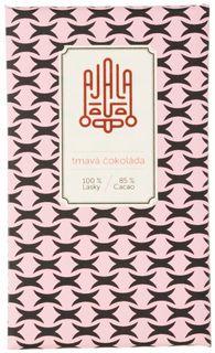 AJALA Tmavá čokoláda BIO 85 % kakao 45 g