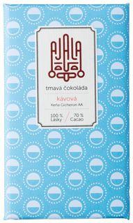 AJALA Tmavá čokoláda BIO káva 45 g