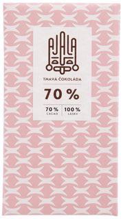 AJALA Tmavá čokoláda BIO 70 % kakao 45 g