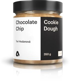 Aktin Chocolate Chip Cookie Dough X Teri Hodanová chocolate chip cookie dough 350 g
