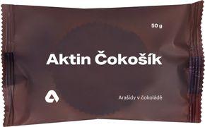 Aktin Čokošík arašidy v čokoláde 50 g