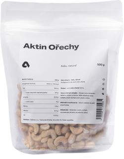 Aktin Kešu orechy natural 500 g
