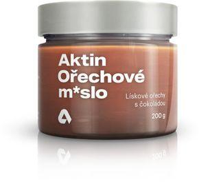 Aktin Orechové maslo lieskové orechy/čokoláda 200 g
