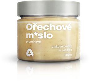 Aktin Proteínové orechové maslo lieskové orechy s vanilkou 200 g