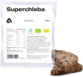 Aktin Superchleba BIO zelené olivy 275 g