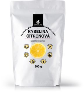 Allnature Kyselina citrónová