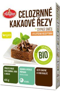 Amylon Celozrnné kakaové rezy BIO