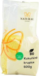 Natural Jihlava Krupica kukuričná BIO