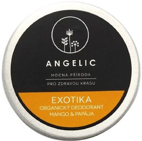 Angelic Exotika organický dezodorant Mango & Papája