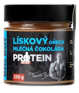BIG BOY Lieskovoorechový krém s mliečnou čokoládou a proteínom