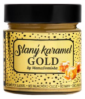 BIG BOY Slaný karamel GOLD @mamadomisha 250 g