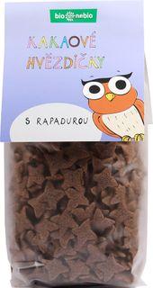Bio Nebio Kakaové hviezdičky s Rapadurou