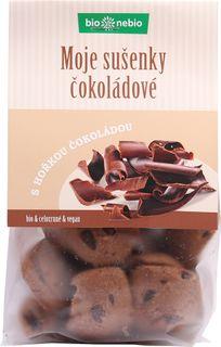 Bio Nebio Moje sušienky BIO čokoláda 130 g