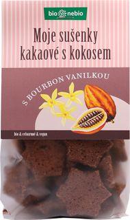 Bio Nebio Moje sušienky BIO kakao/kokos 130 g