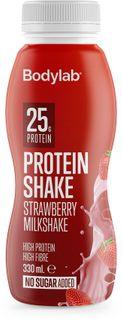 Bodylab Protein Shake jahodový milkshake 330 ml