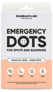Breakout+aid Náplasti na lokálne ošetrenie akné s kyselinou salicylovou