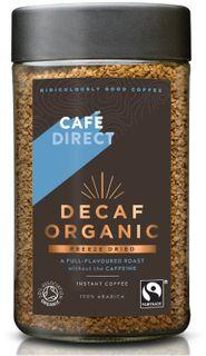 Café Direct Instantná káva bez kofeínu BIO