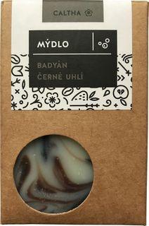 Caltha Mydlo Badyán s čiernym uhlím