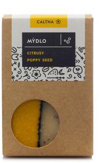 Caltha Mydlo citrusové poppy seed 100 g