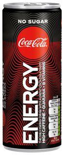 Coca Cola Energy Drink bez cukru 250 ml