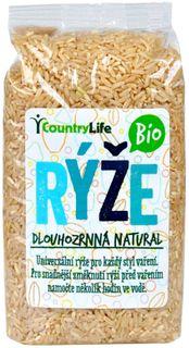 Country Life BIO Dlhozrnná natural ryža