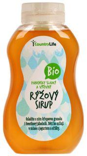 Country Life Sirup ryžový BIO