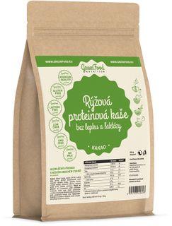 GreenFood Proteínová ryžová kaša bez lepku a laktózy