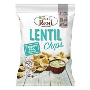 Eat Real Lentils chips