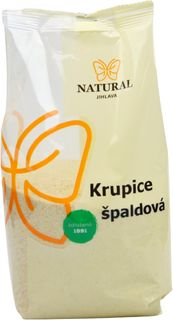 Natural Jihlava Krupica špaldová